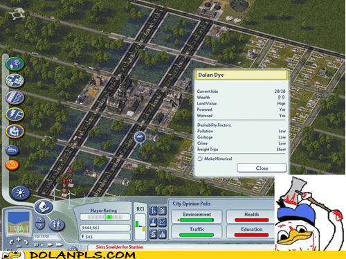business,dye,sim city 4,video games