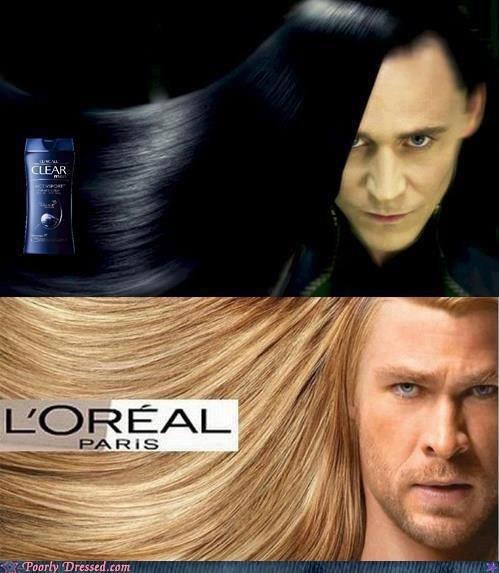 avengers hair loki loreal nerdgasm shampoo Thor - 6360757760