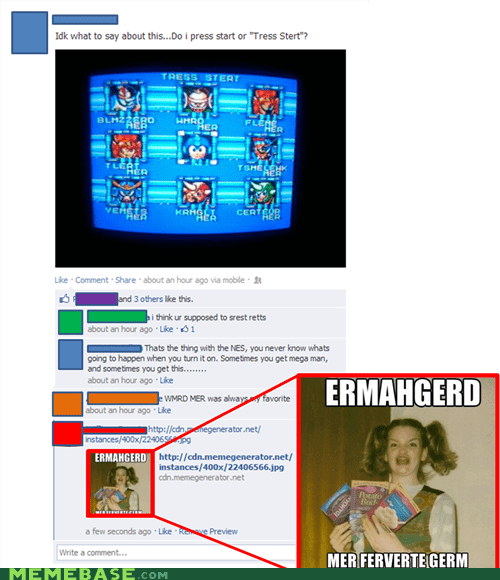 derp,Ermahgerd,megaman,video games