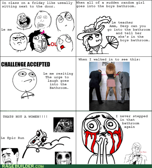 Challenge Accepted eye bleed peetimes Rage Comics - 6361190144