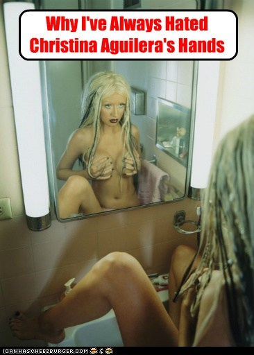 Why I've Always Hated Christina Aguilera's Hands
