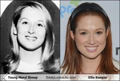 actor celeb ellie kemper funny Meryl Streep TLL - 6361270528