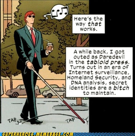 daredevil secret identity Straight off the Straight off the Page - 6361339648