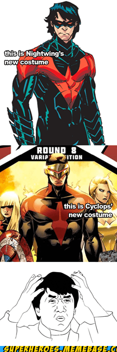 costume cyclops nightwing Super-Lols the same - 6361534976