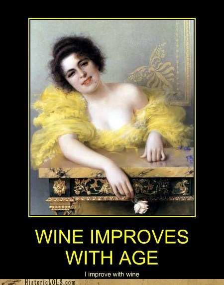drunk historic lols rose wine woman yellow - 6362181376