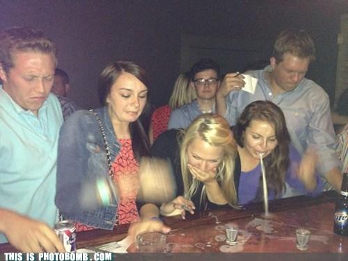 drinking shots spew vombomb vomit - 6362524160