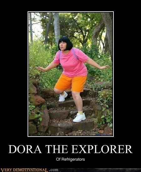 dora the explorer fat joke fridge hilarious - 6364110848