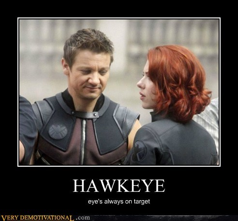 HAWKEYE eye's always on target