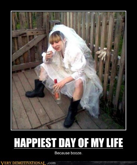 booze drunk happy hilarious wedding - 6365593088