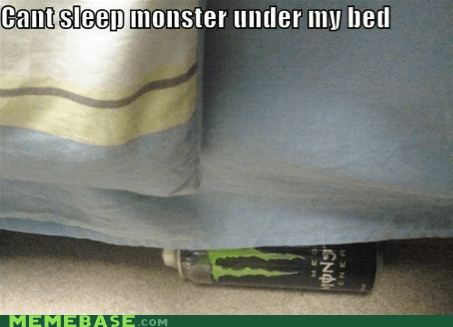 bed,Memes,monster,scared