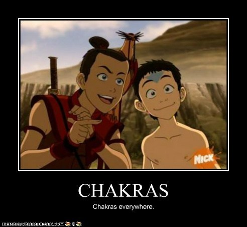 CHAKRAS Chakras everywhere.