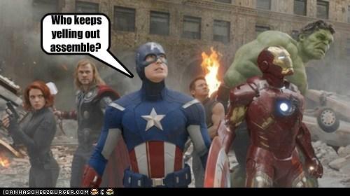annoying avengers Black Widow chris evans chris hemsworth hulk iron man Jeremy renner steve rogers - 6366579968