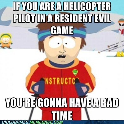 helicopter meme resident evil rocket launchers - 6366915584