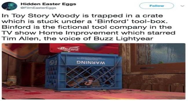 details fun cool lolz messages random movies interesting hidden lol funny weird hidden easter eggs - 6366981