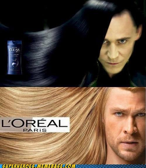 hair,loki,loreal,product,Super-Lols,Thor