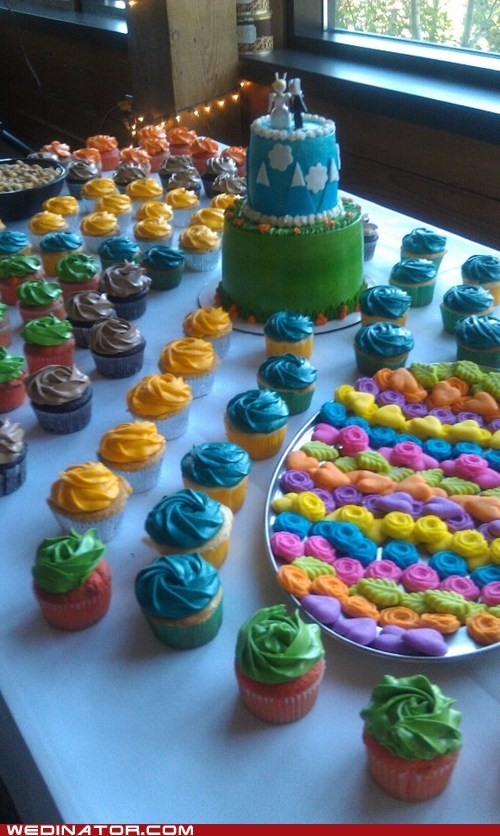 cake cupcakes colorful adventure time - 6367091456