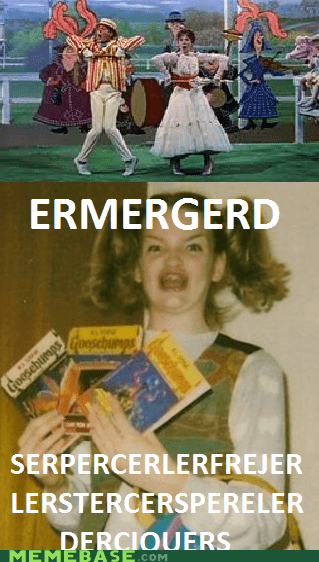 derp ermergerd mary poppins Movie supercalifragilisticexpia - 6367246848