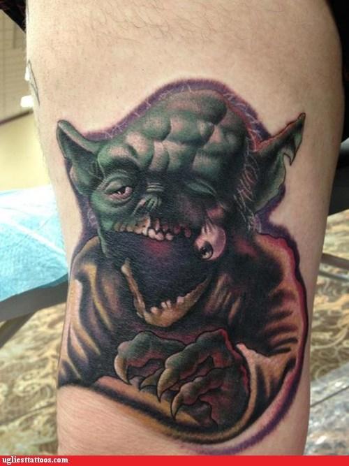 star wars,yoda,zombie