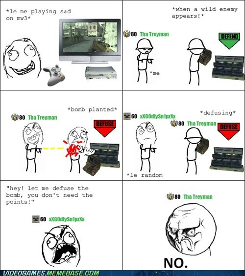 call of duty,friends,points,rage comic,search and destroy