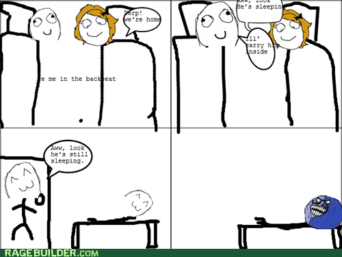 i lied,parenting,Rage Comics,sleeping