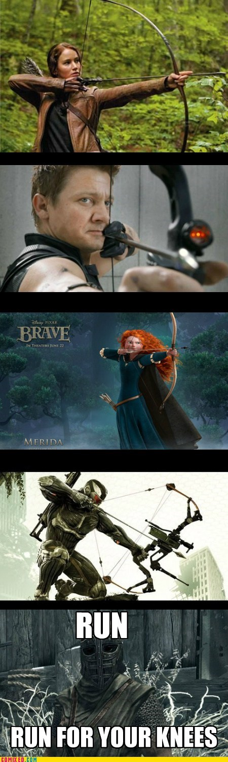 arrow to the knee,arrows,best of week,brave,hunger games,Memes,Skyrim,The Avengers,the internets