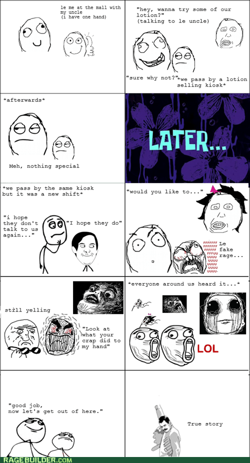 fu guy,hand,lotion,Rage Comics