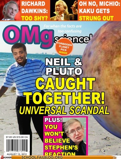 Fake Science,Neil deGrasse Tyson,tabloids,what a scandal