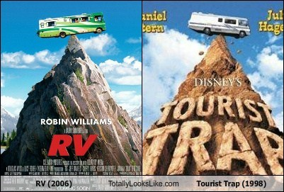 funny Movie poster rv TLL tourist trap