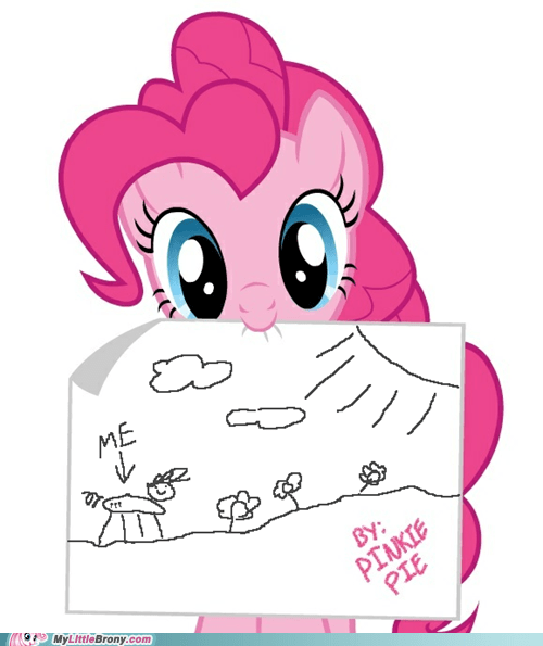 cute drawing fridge pinkie pie the internets
