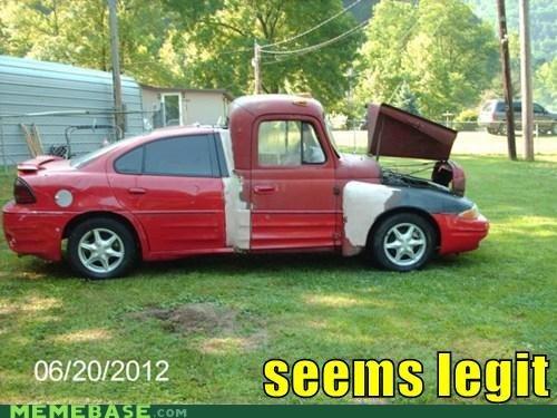 car mashup seems legit truck - 6368609792