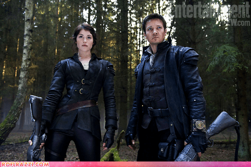 actor,celeb,Entertainment weekly,first look,gemma arterton,Hall of Fame,hansel and gretel witch h,hansel and gretel witch hunters,Jeremy renner,Movie