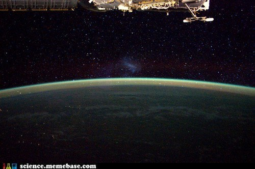 Astronomy,earth,ISS,magellaniac cloud
