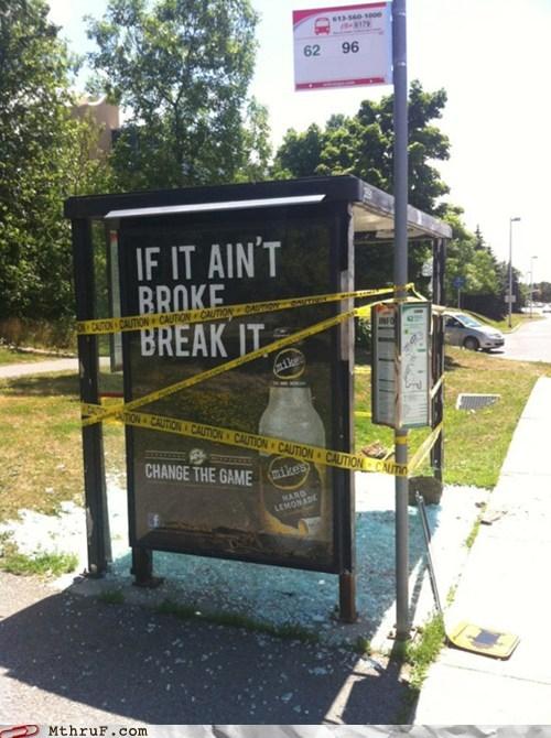 advertisement bus stop mikes-hard-lemonade - 6368961024
