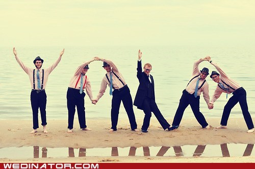 funny wedding photos Groomsmen twitter yolo - 6368985344