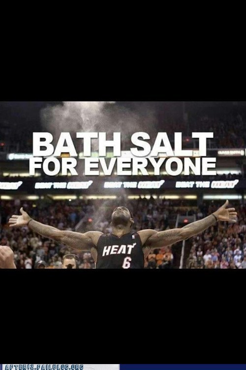 bath salts lebron james miami heat - 6369108736