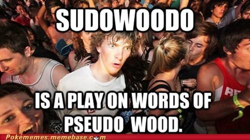 meme Memes psuedo wood sudden clarity clarence sudowoodo - 6369120256
