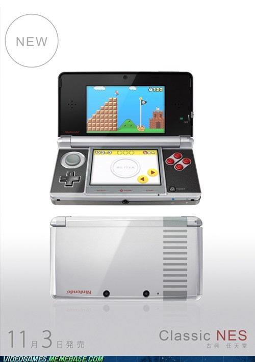 3DS IRL NES please shut up and take my money - 6369284608