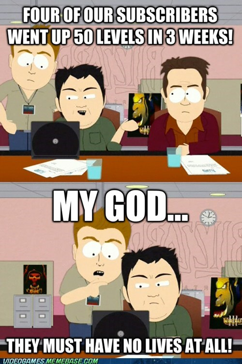blizzard even more no lives no lives South Park the internets TV world of warcraft - 6369287936