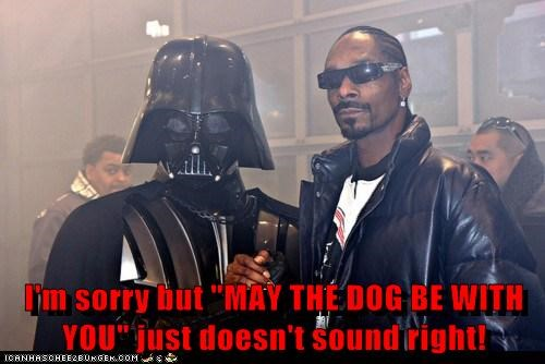 celeb darth vader funny Movie Music rap snoop dogg star wars - 6369464320