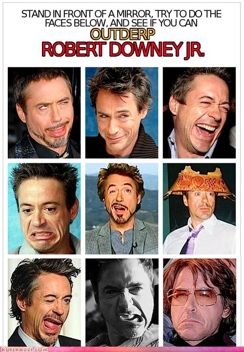 actor,celeb,derp,funny,robert downey jr,sexy
