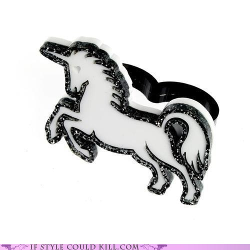 cool accessories,ring of the day,rings,unicorns