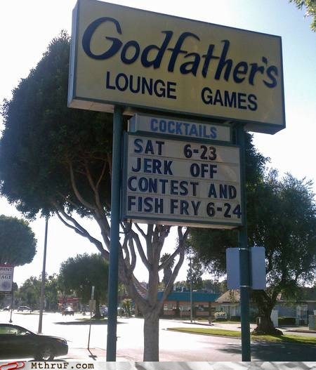 fish fry,godfathers,lounge games,tartar sauce