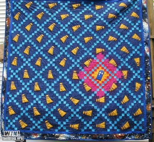 best of week daleks doctor who g rated Hall of Fame nerdgasm quilt tardis win - 6369720320