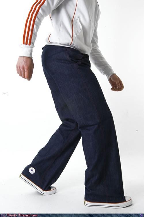 combination fashion pants shoes - 6369736704