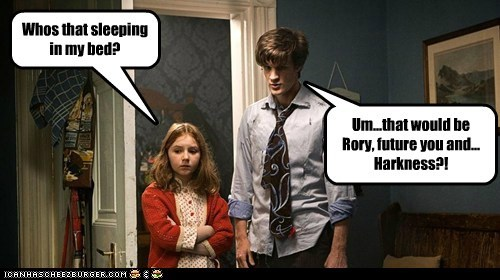 amy pond,bed,Captain Jack Harkness,doctor who,fanfic,future,Matt Smith,rory,the doctor