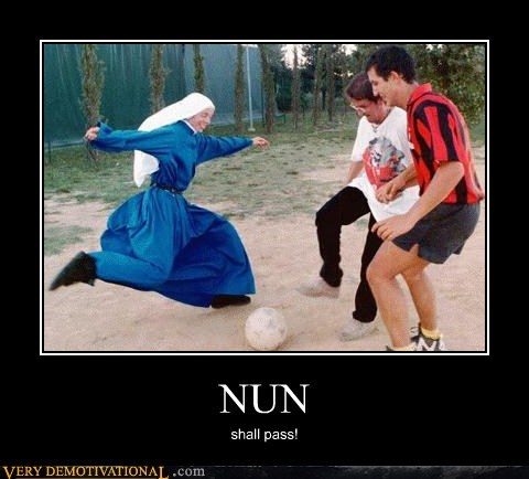 hilarious Lord of the Rings nun