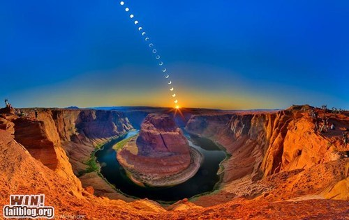 canyon moon photography time lapse