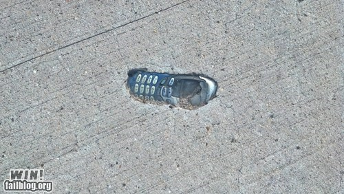 accident,AutocoWrecks,concrete,nokia,phone,sidewalk