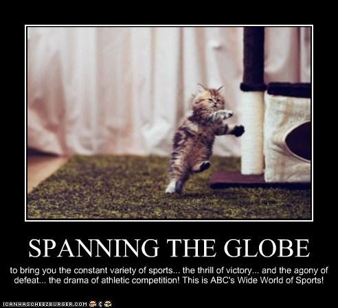 SPANNING THE GLOBE