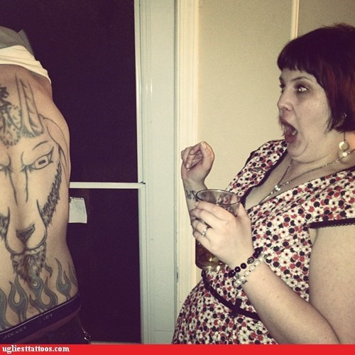 back tattoos goat reaction - 6370544896